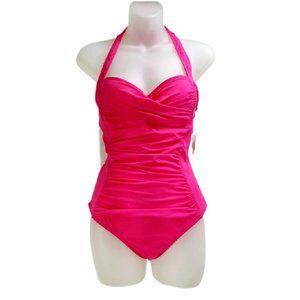 Liz Claiborne Swimsuit Sweetheart Neck Halter